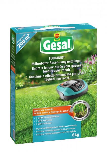 Gesal Mähroboter Rasen-Langzeitdünger 6 kg