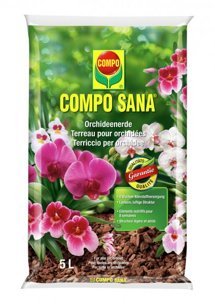 COMPO SANA Orchideenerde - torffrei 5 l