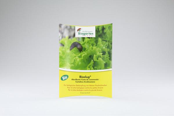 Bioslug® Abrufkarte 24 m²