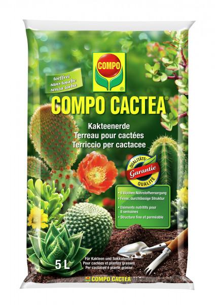COMPO CACTEA Kakteenerde - torffrei 5 l