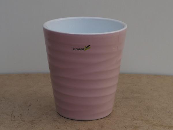 Wave Uebertopf pink lasur