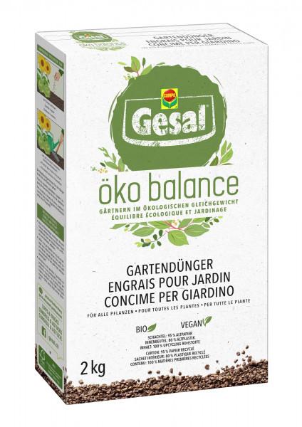 Gesal öko balance Gartendünger 2 kg