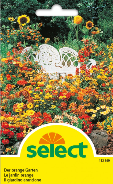 Der orange Garten