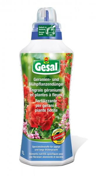 Gesal Geranien- und Blühpflanzendünger 1 l