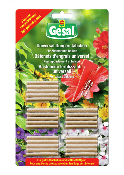 Gesal Universal Düngerstäbchen 30 Stück