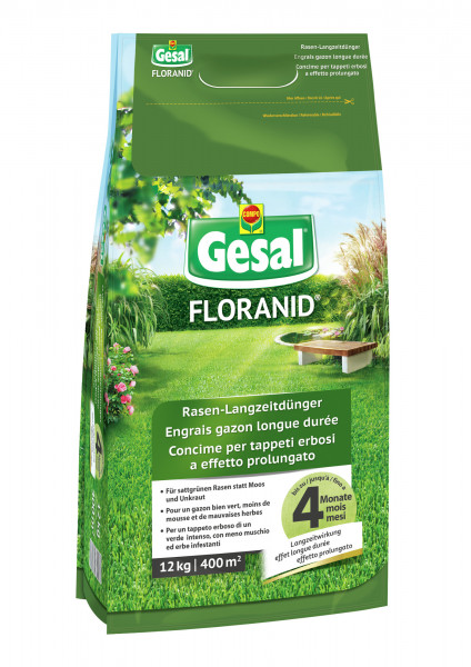 Gesal FLORANID® Rasen-Langzeitdünger 12 kg