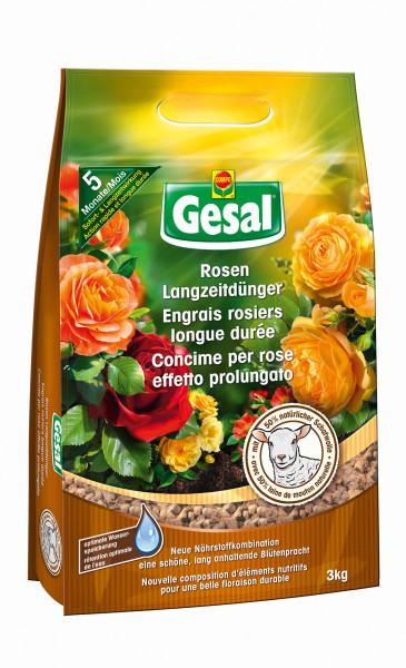 Gesal Rosen Langzeitdünger mit Schafwolle 3 kg