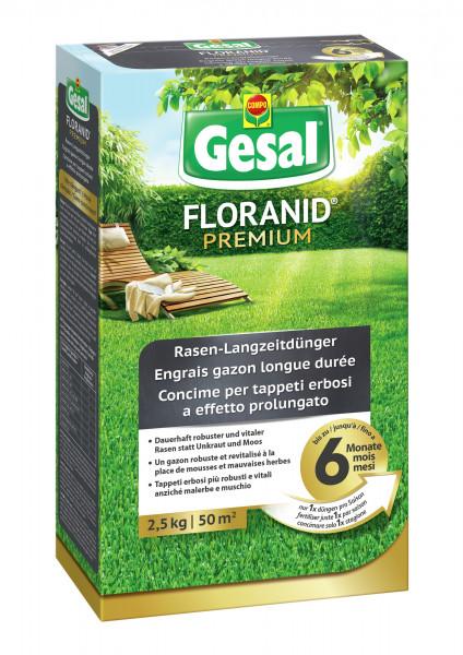 Gesal FLORANID® Premium Rasen-Langzeitdünger 2,5 kg