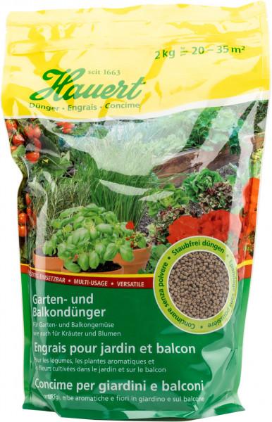 Hauert Garten-und Balkondünger 2 kg