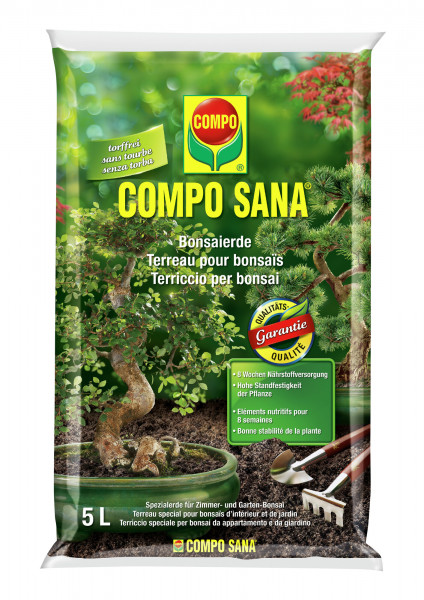 COMPO SANA Bonsaierde - torffrei 5 l