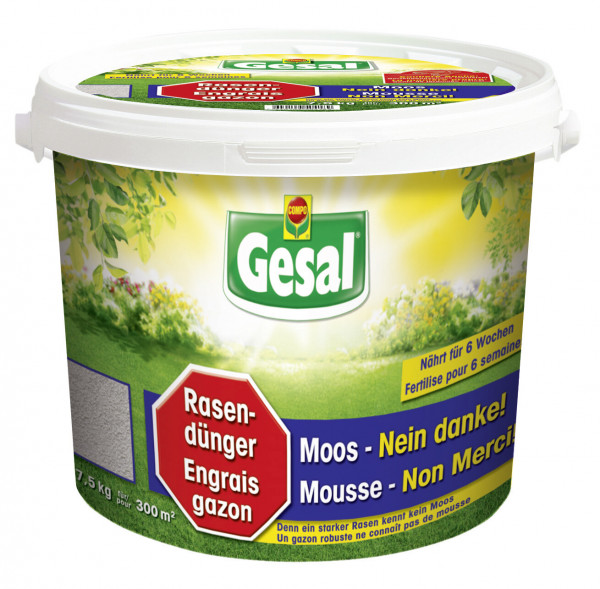 Gesal Rasendünger Moos-Nein danke! 7,5 kg