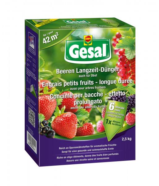 Gesal Beeren Langzeit-Dünger 2,5 kg